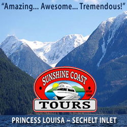 Sunshine Coast Tours and Princess Lousa Inlet