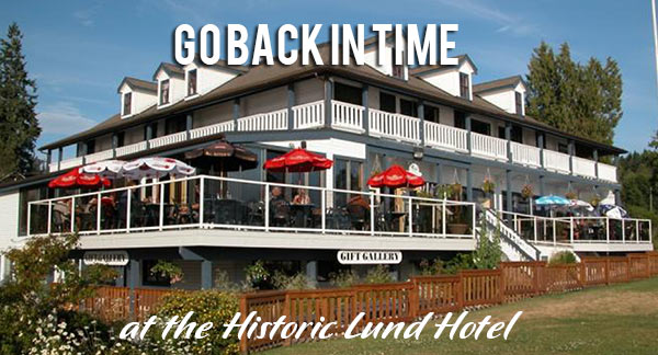 The Historic Lund Hotel - waterfront accommodation in Lund BC