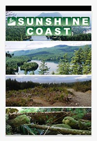 Screen shot of the Sunshine Coast trails iphone app