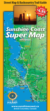Sunshine Coast Recreation Map