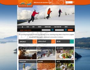 Sunshine Coast Tourism screen shot