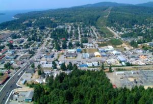File photo: Sechelt from the air