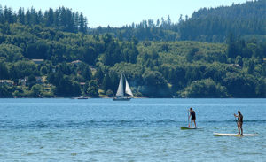 Porpoise Bay water playground
