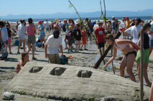Annual Davis Bay Sandcastle Competition